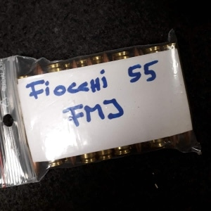 55gr FMJ Fiocchi