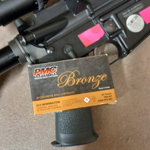 55gr FMJ PMC Bronze