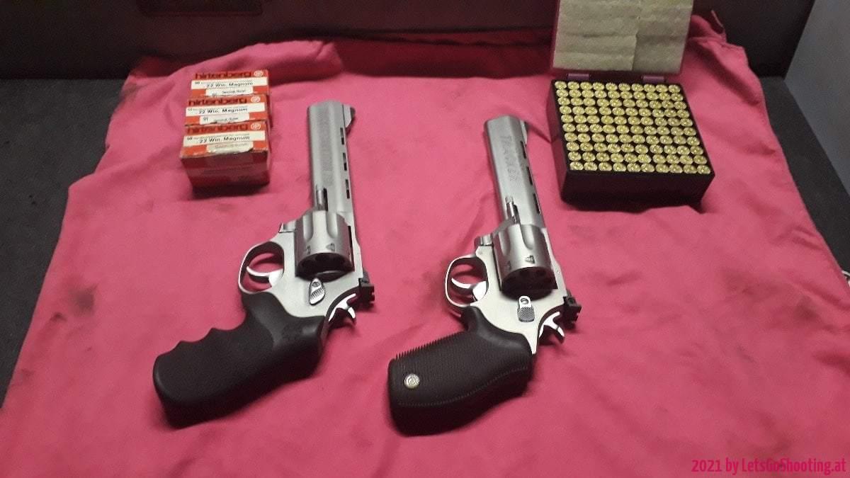 Taurus Tracker 627 & 971