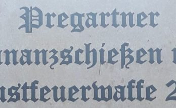 Ordonnanzschiessen FFW Pregarten 20/11