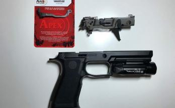 SigSauer P320 X-Five Apex Triggerjob